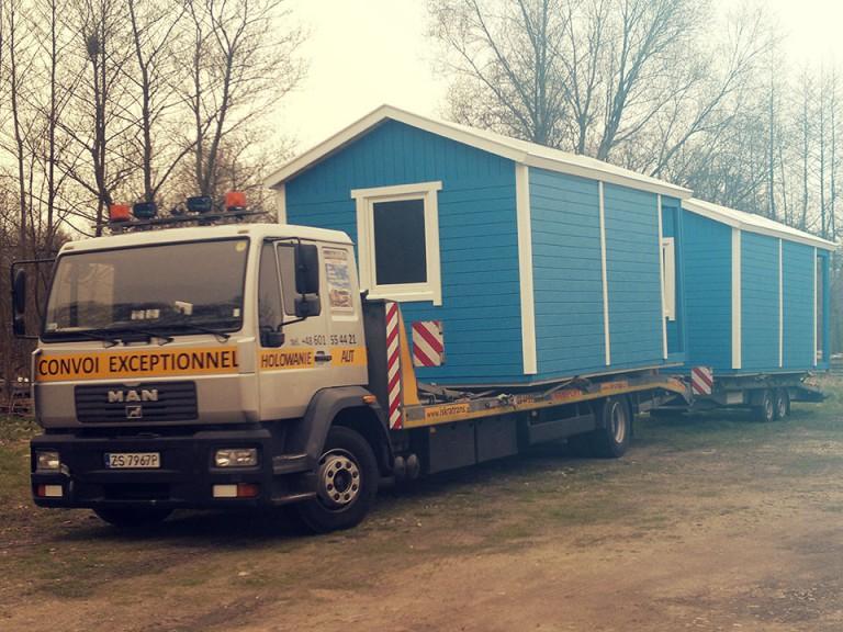Caravan transport